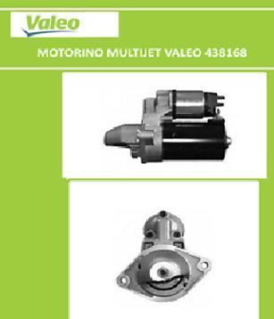 Motorino Avviamento Multijet Fiat - Lancia - Opel - Alfa Romeo