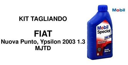 Kit filtri Fiat e Lancia Multijet 1.3