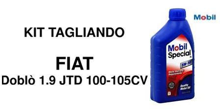 Kit filtri Fiat Doblò 1.9 Jtd
