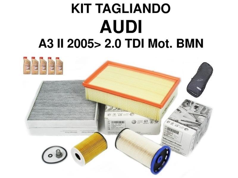 Kit filtri Audi A3 Tdi e Golf V Tdi