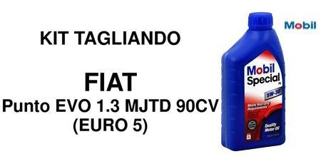 Kit filtri Fiat Punto Evo 1.3 Multijet