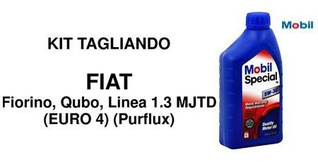 Kit filtri  Fiat Fiorino Qubo 1.3 Multijet Euro4