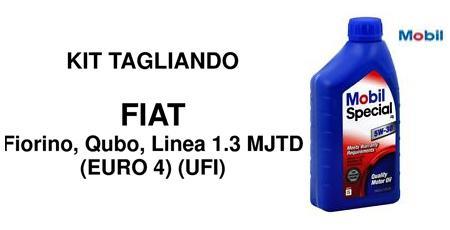 Kit filtri Fiat Fiorino Qubo 1.3 Multijet