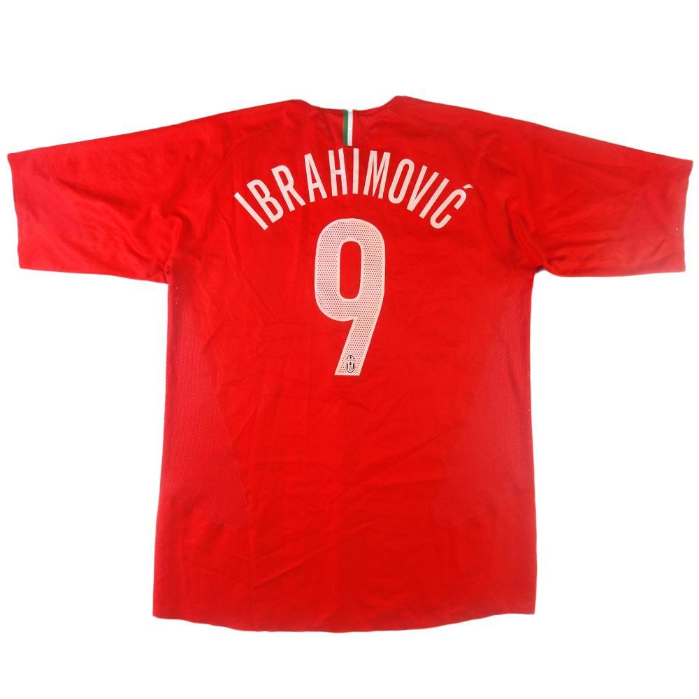 b09c7d84384 2005-06 Juventus Ibrahimovic shirt   9 Away XL