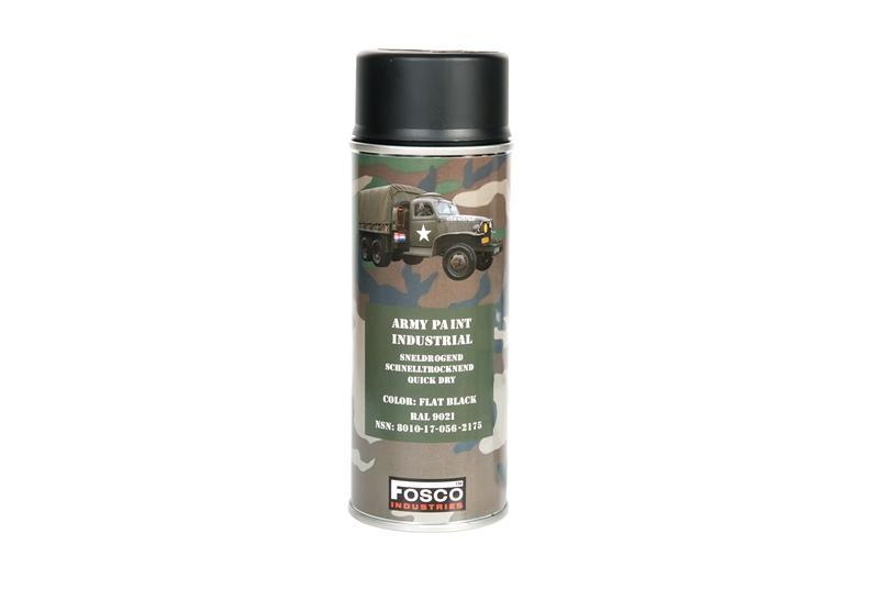 Vernice Spray 400 ML Flat Black