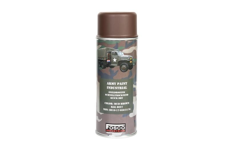 Vernice Spray 400 ML Mud Brown