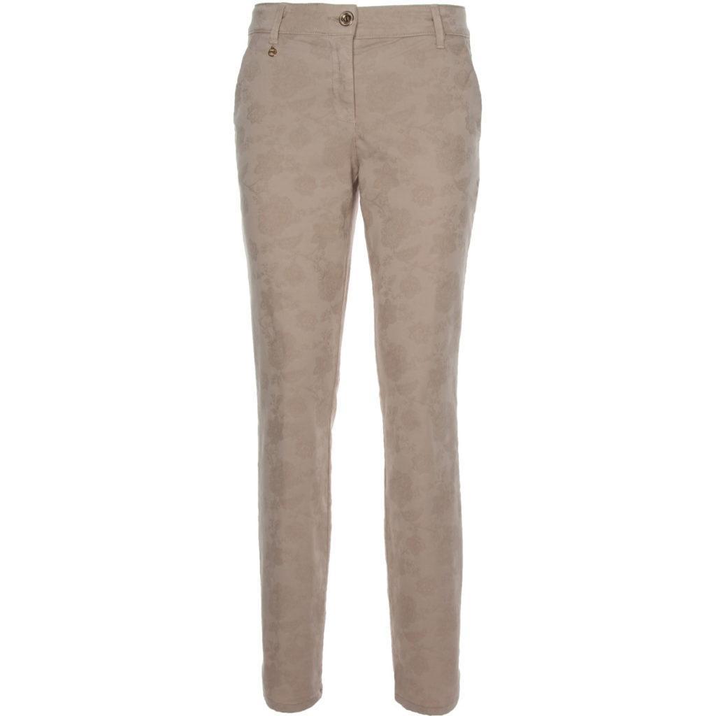 Pantalone beige Jacquard Nero Giardini