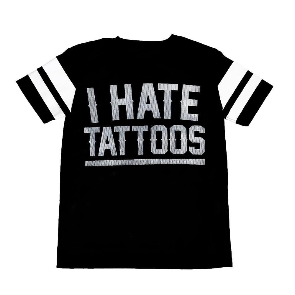 Perforated oversize T-shirt I ODIO I TATUAGGI
