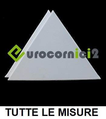 Tele Triangolari per Dipingere in Misto Cotone - Telai Triangolari Telati - Profilo 2 cm