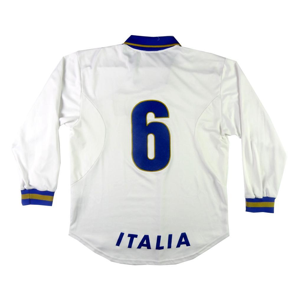 1996 Italia Maglia Away #6 Carboni Player Issue XL (Top)