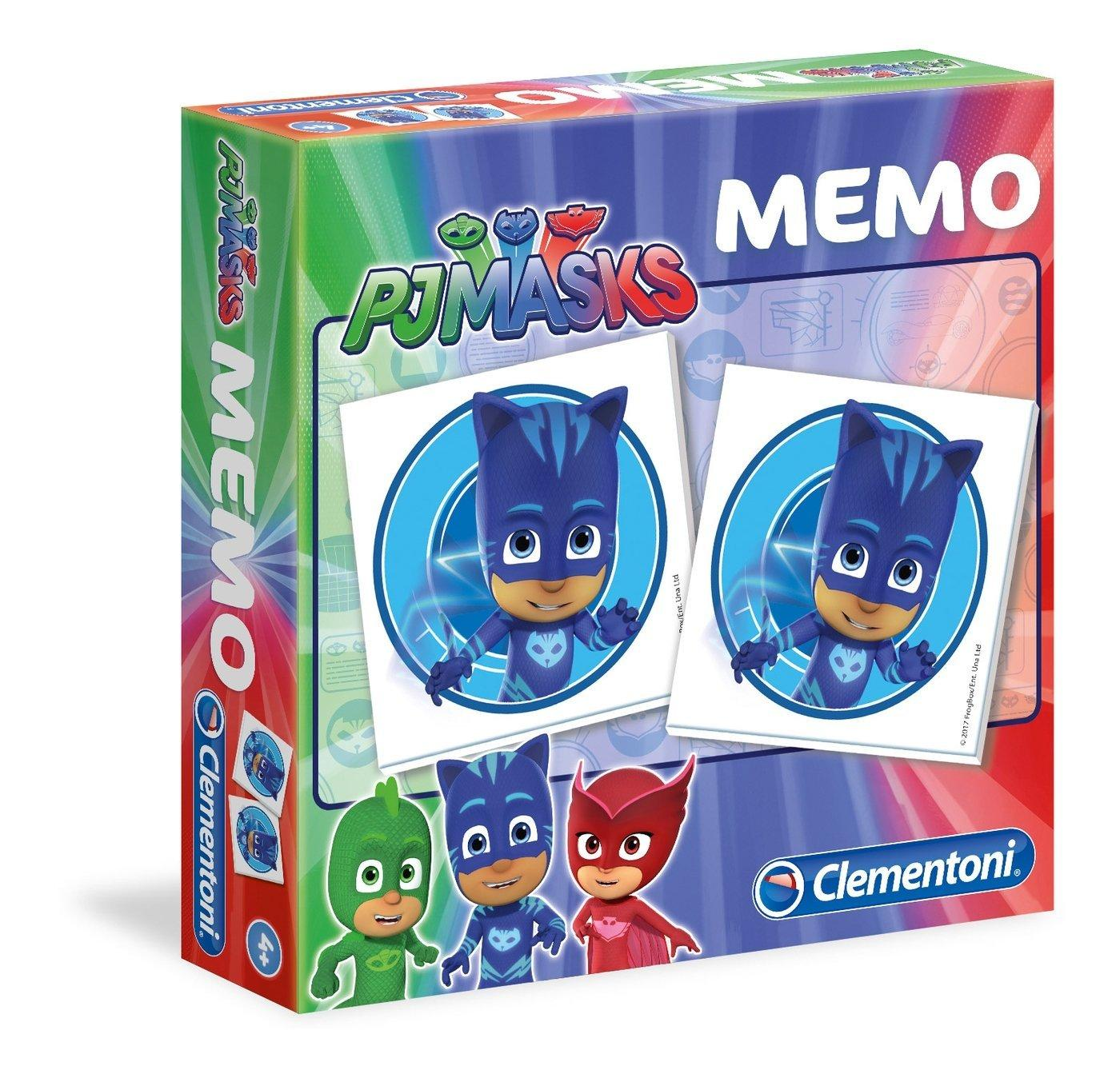 MEMO GAME PJ MASKS 18012 CLEMENTONI