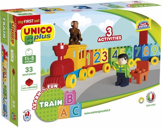 TRENINO PRE SCHOOL UNICOPLUS 8630-0000 ANDRONI