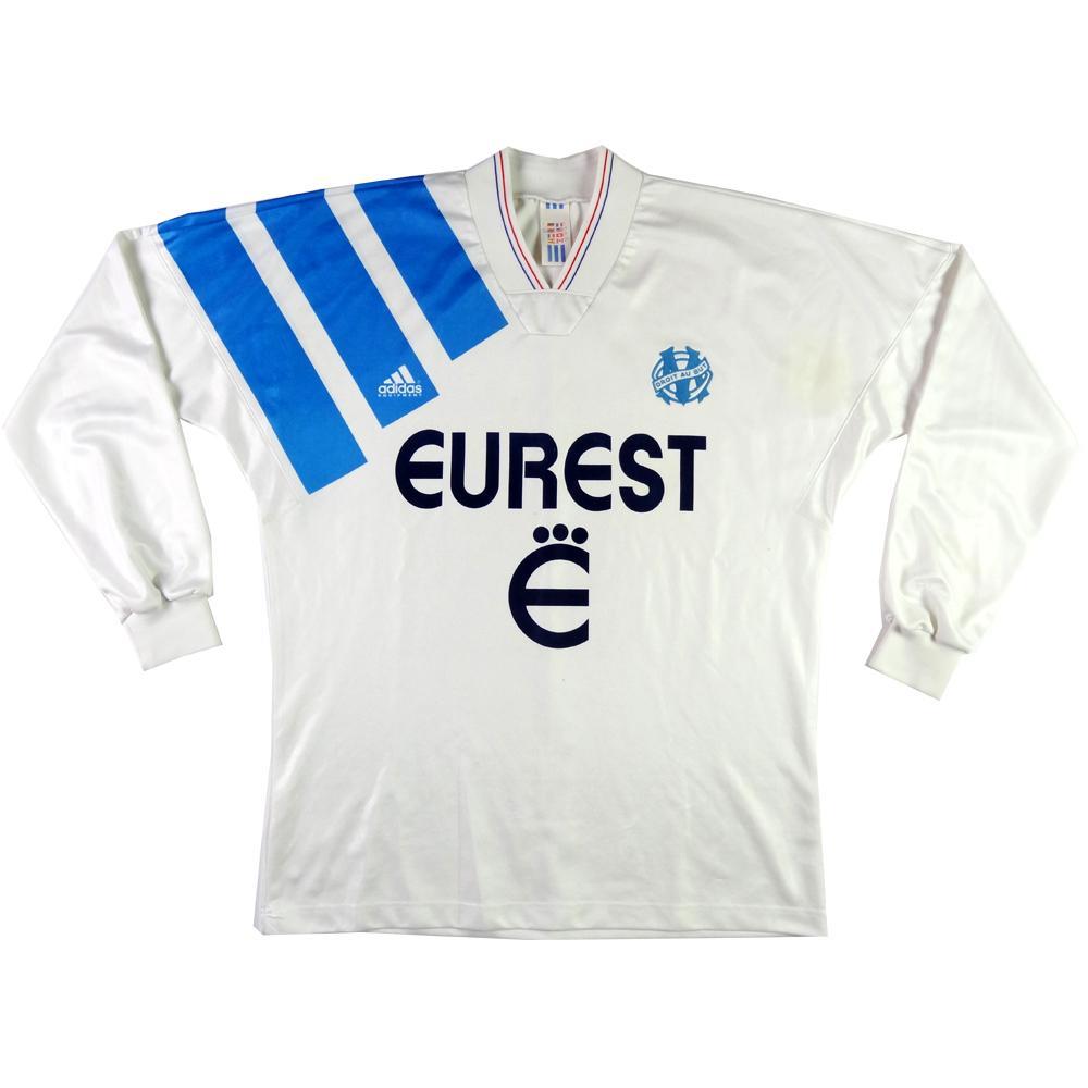 1993-94 Olympique Marseille MAGLIA HOME L
