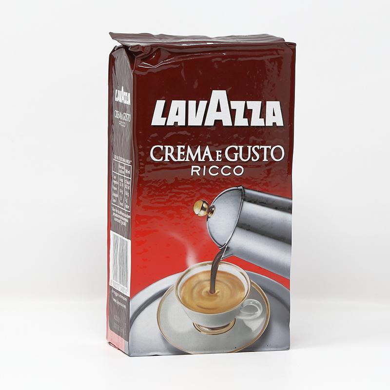 Caffè macinato Lavazza Crema e Gusto Ricco 250 gr.