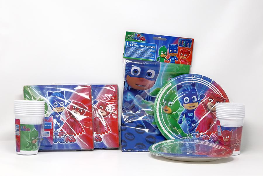 Set Coordinato tavola PJ Masks
