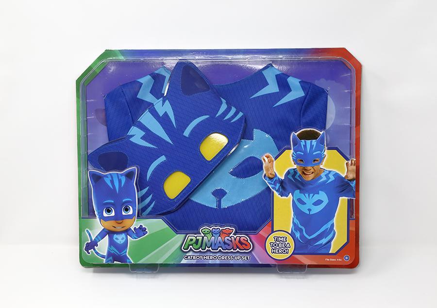 Costume bimbi PJ Masks Catboy 4-6 anni