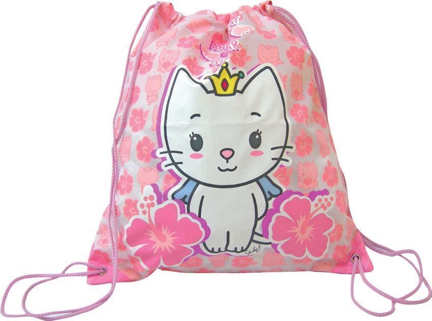 Angel Cat Sugar Kitty Aloha sacca zaino