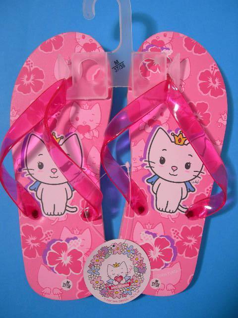 Angel Cat Sugar Pink Flower Infradito Ragazza Ciabatte Mare Piscina