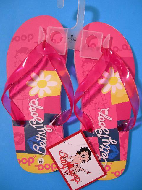 Betty Boop Pink Infradito Ragazza Ciabatte Mare Piscina