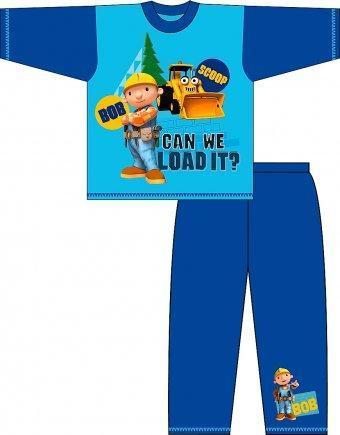 Bob Aggiustatutto pigiama bambino azzurro 1 a 4 anni