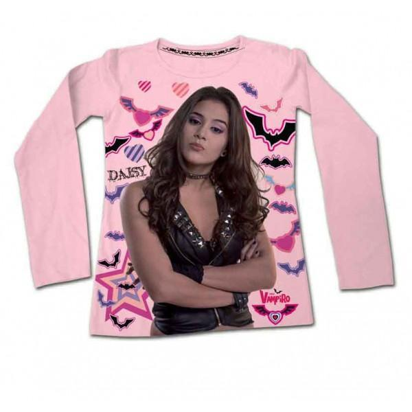 Chica Vampiro T-Shirt maglia Cotone manica lunga ragazza da 8 a 14 anni