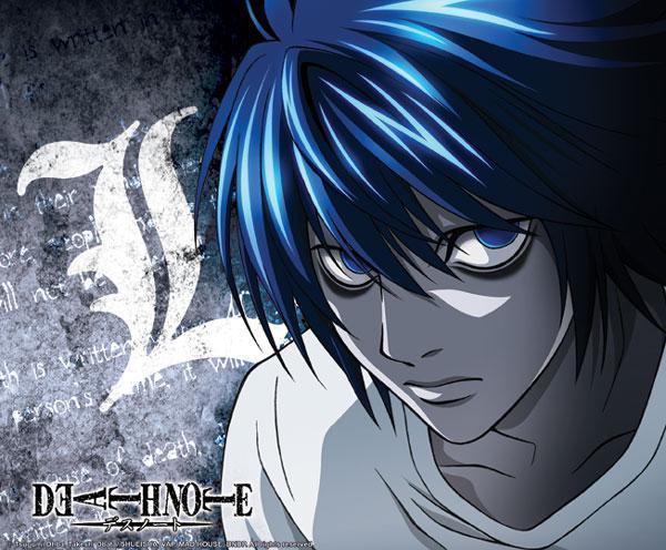 Death Note L mouse pad tappetino