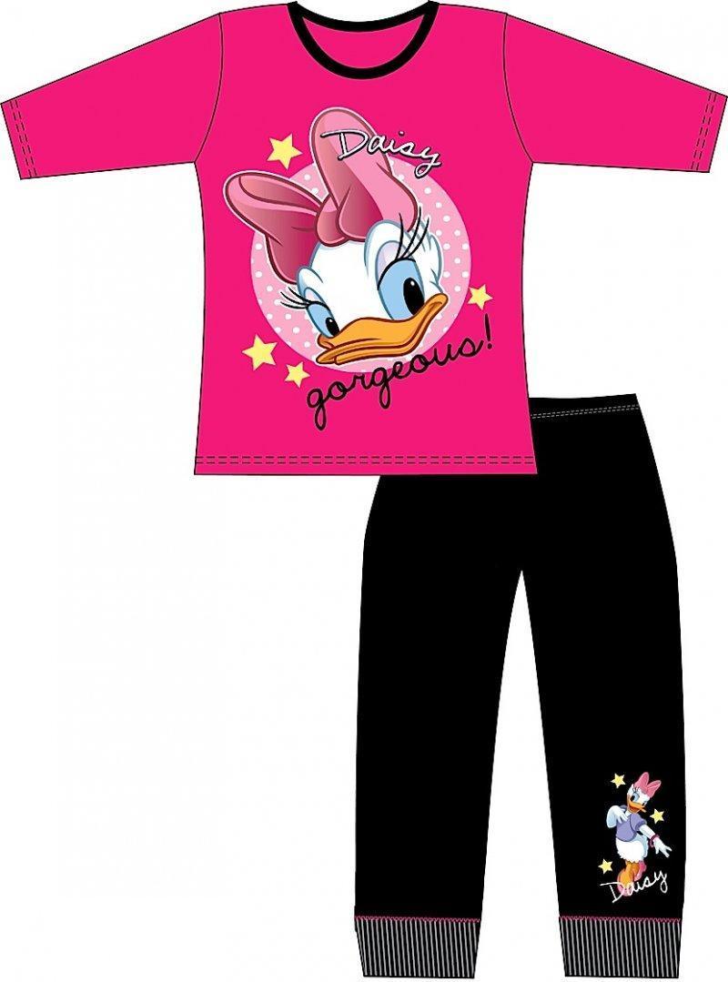 Disney Paperina pigiama  bambina rosa  nero cotone da 5 a 12 anni