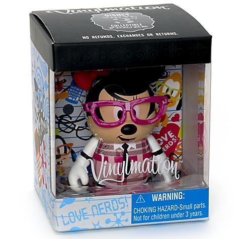 Disney Store Minnie Nerd vinilmation figure