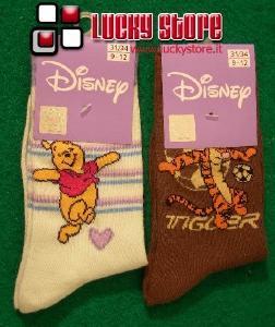 Disney Winnie set 2 paia di calzini bambino 31-34