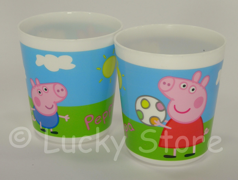 Peppa Pig bicchiere bambini per microonde