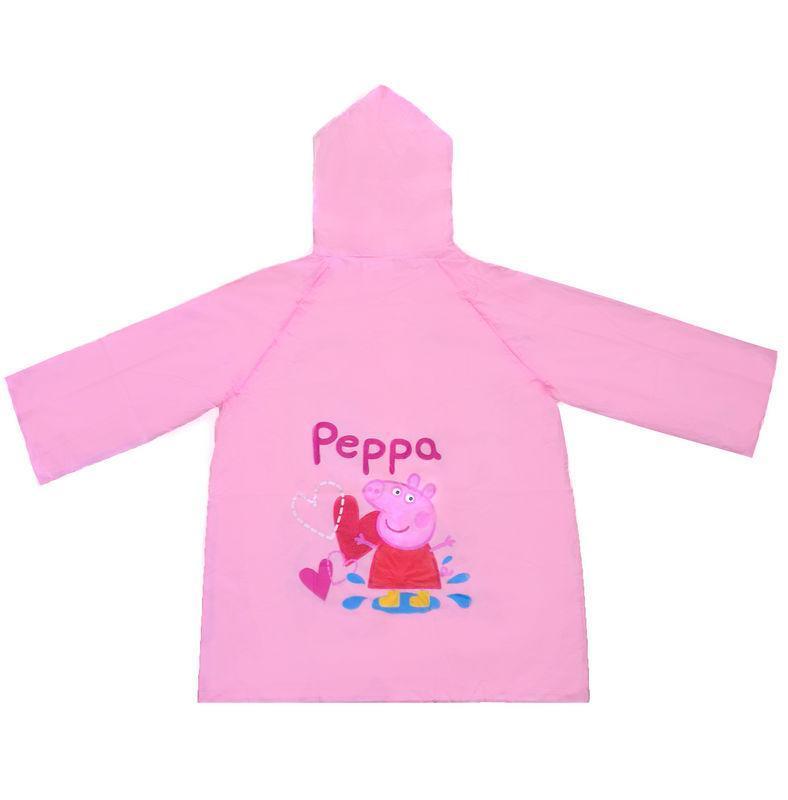 Peppa Pig impermeabile cappuccio rosa