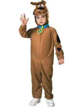 Scooby Doo Costume Carnevale Bambino Hanna Barbera Cane