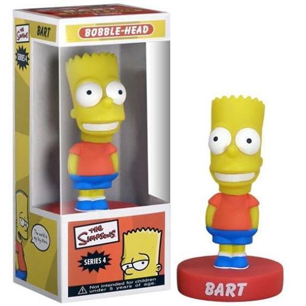 Simpson Bart bobble head figure 15 cm Funko serie 4