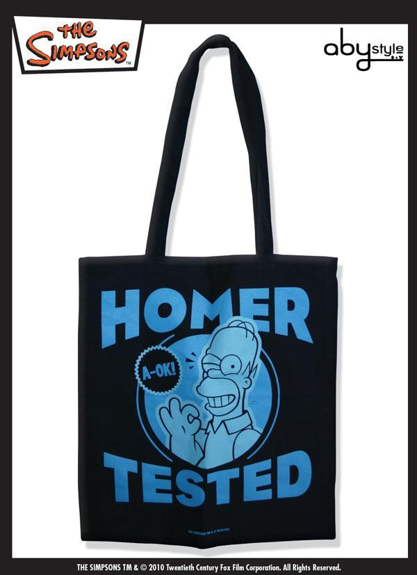 Simpson borsa spesa in cotone Homer Tested The Simpsons