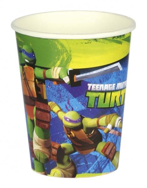Tartarughe Ninja 8 bicchieri 266ml festa party