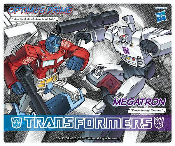 Transformers Optimus Vs Megatron mousepad tappetino mouse originale