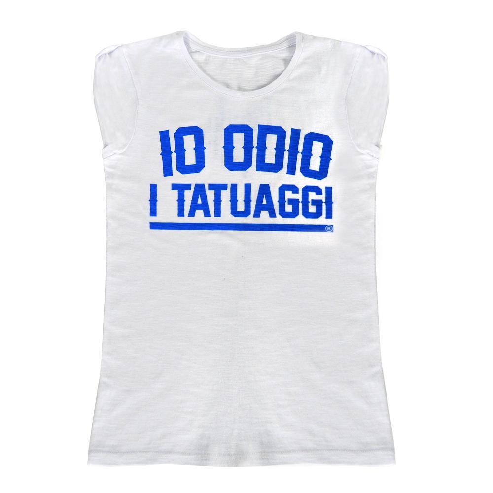 T-shirt Woman IO ODIO I TATUAGGI