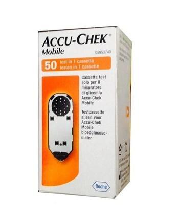 ACCU - CHEK MOBILE PER MISURARE LA GLICEMIA