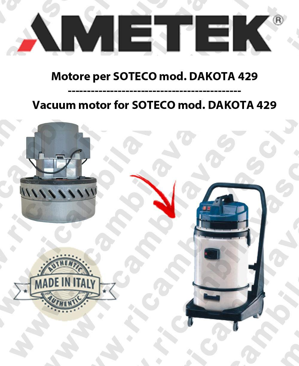 Replacement Motor for x SOTECO Vacuum Cleaner for x SOTECO more turbines Cleaner
