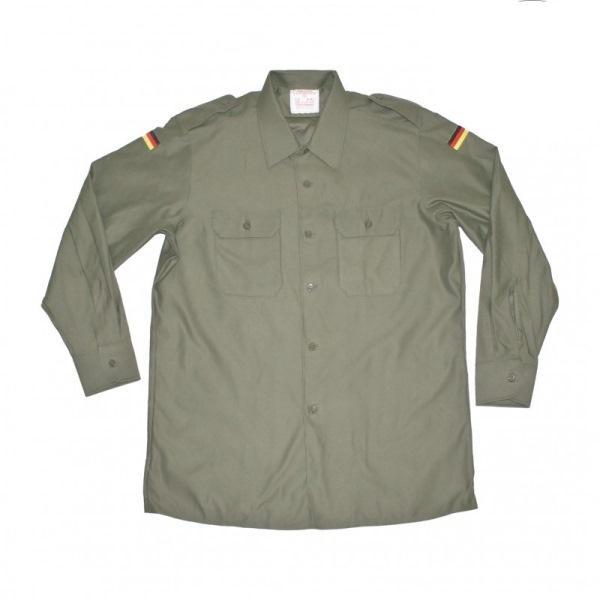 Camicia Militare Tedesca con Bandierine