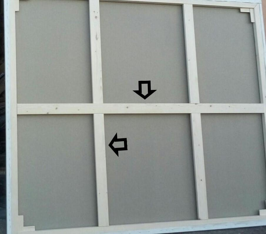 Traverse per Telai 20 x 45 mm - Traverse in legno - Traverse per quadri