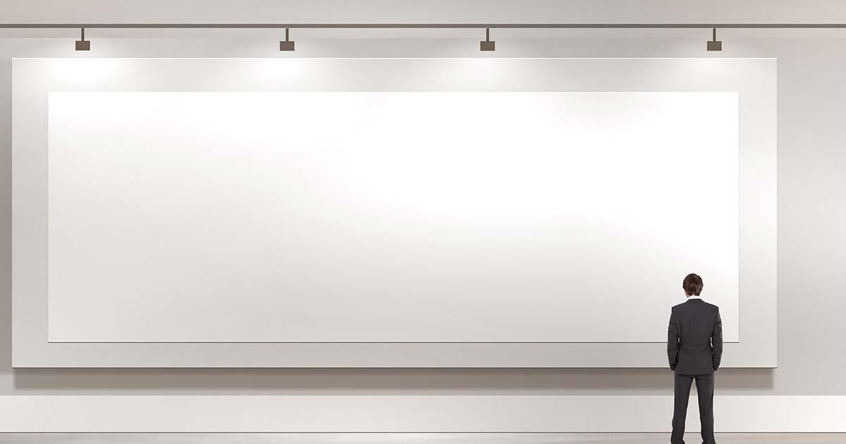 Tele 200x400 cm Gallery per dipingere - Tele per Pittura - profilo 4 cm Bianche grandi dimensioni