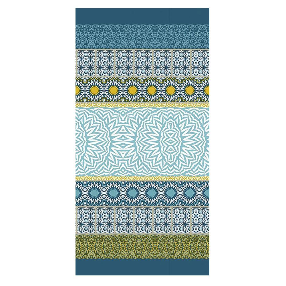 Telo mare in spugna Bassetti Granfoulard 90x180 cm EBANO 3 blu