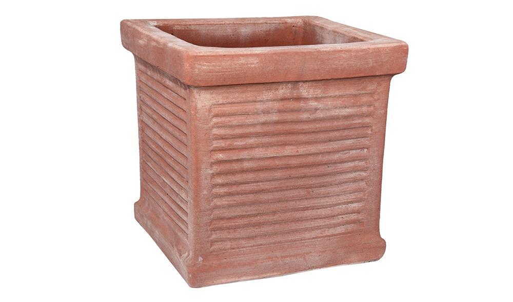 Cubo Millerighe in Terracotta