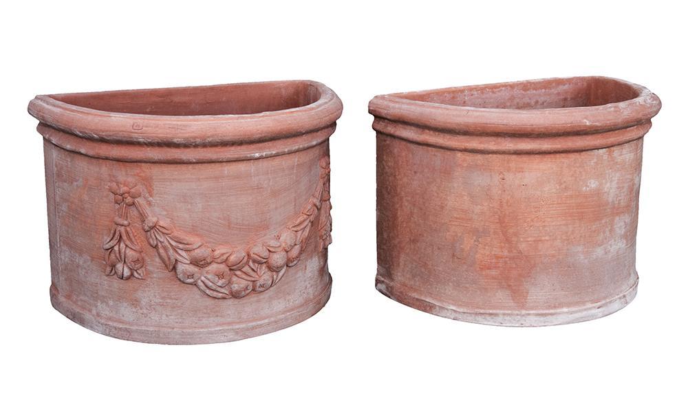 Semicerchio Basso in Terracotta