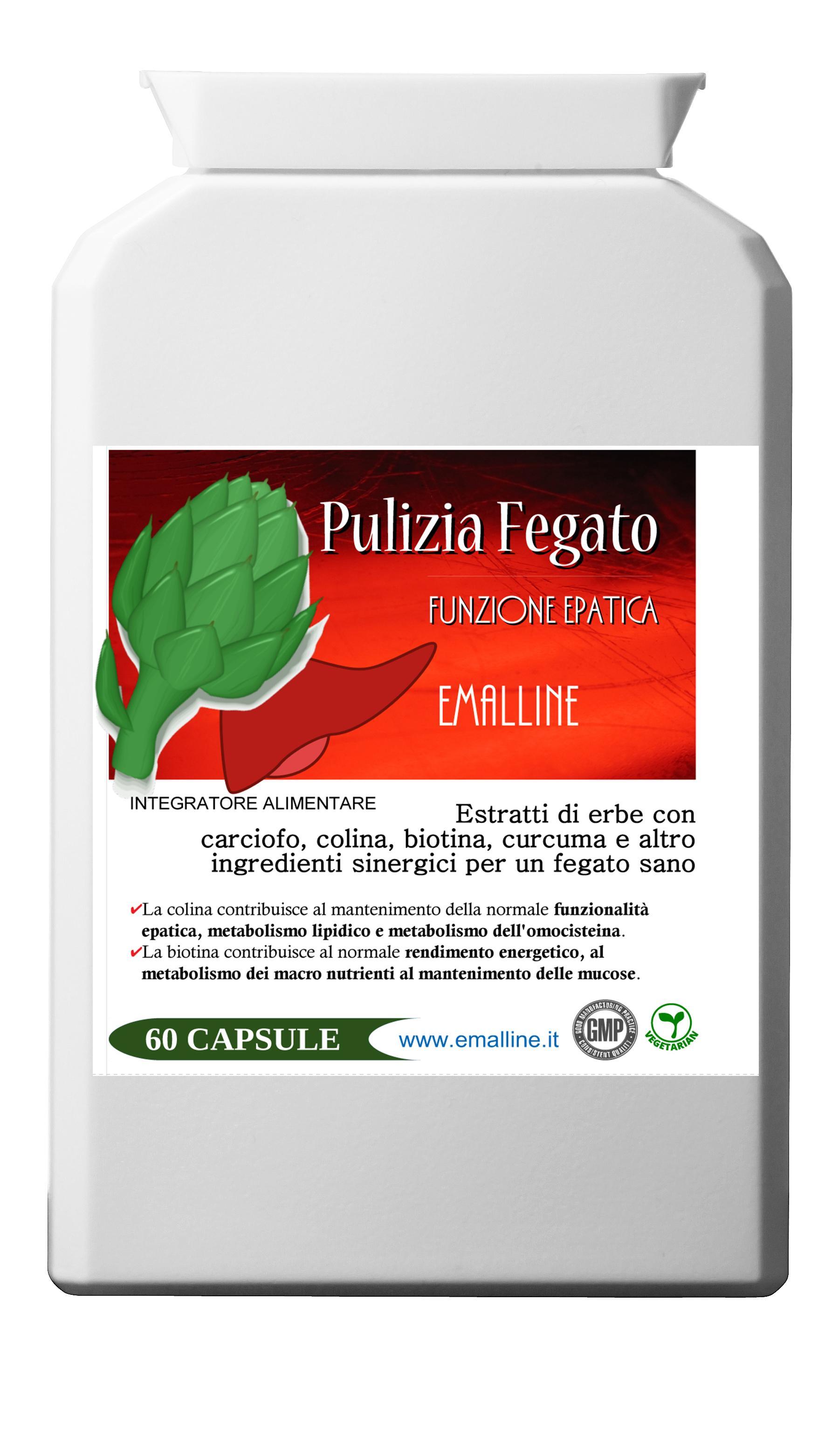 Emal LIVER Pulizia del Fegato 60 capsule
