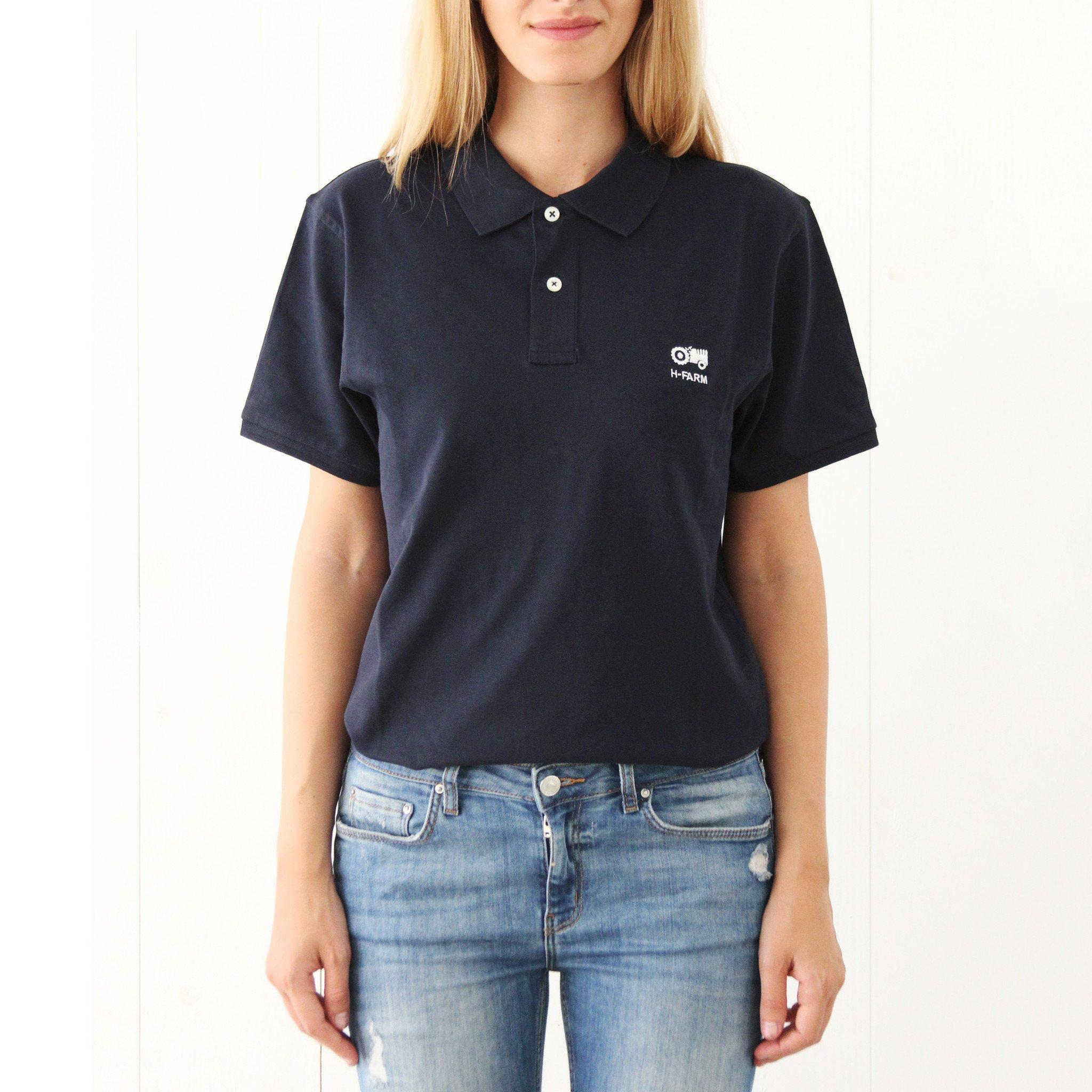 Polo basic blu H-FARM