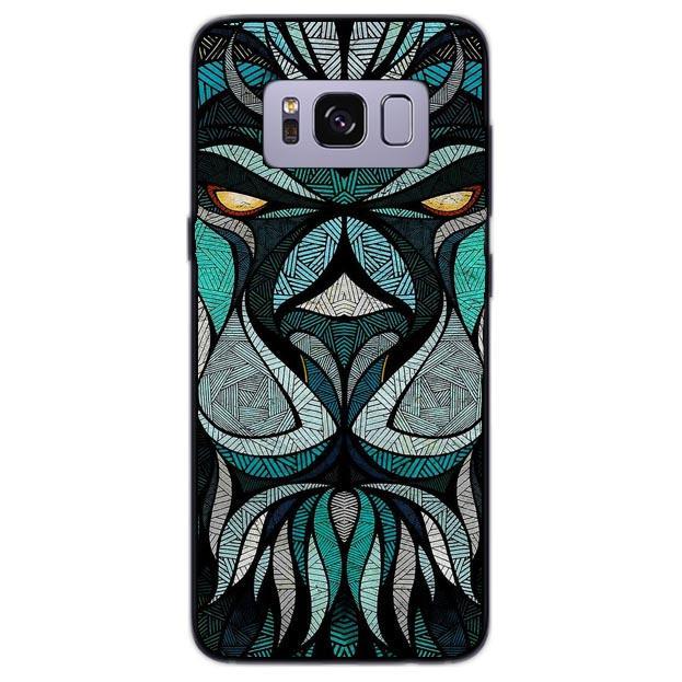 LEONE TRIBALE cover per Samsung Galaxy vari modelli