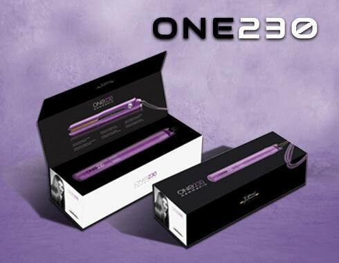 GAMMAPIU' - Piastra per capelli Professionale ONE 230 - Colore VIOLA