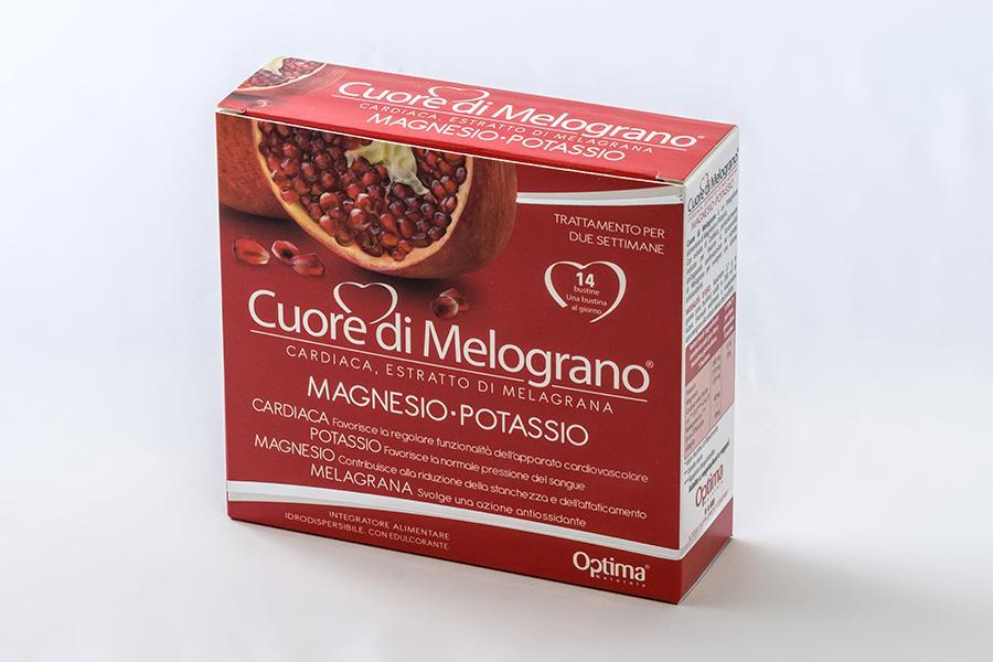 Magnesio e potassio al melograno 14 bustine da 3,7 gr
